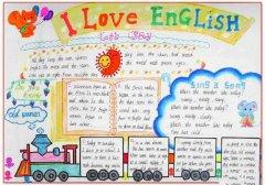 小学生英语手抄报,英语的作用