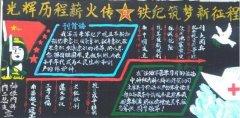 关于建军节的黑板报,八一建军90周年黑板报