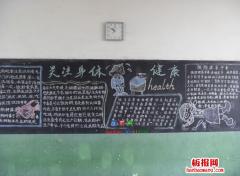 h7n9禽流感预防黑板报