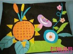 幼儿创意手工制作,可爱的布衣手工