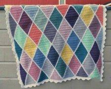 毛线编织制作自然田园风家居装饰品图解教程