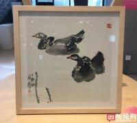 漂亮的中国画欣赏,水暖