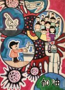 武汉加油儿童画画作品,为武汉加油画画简单画